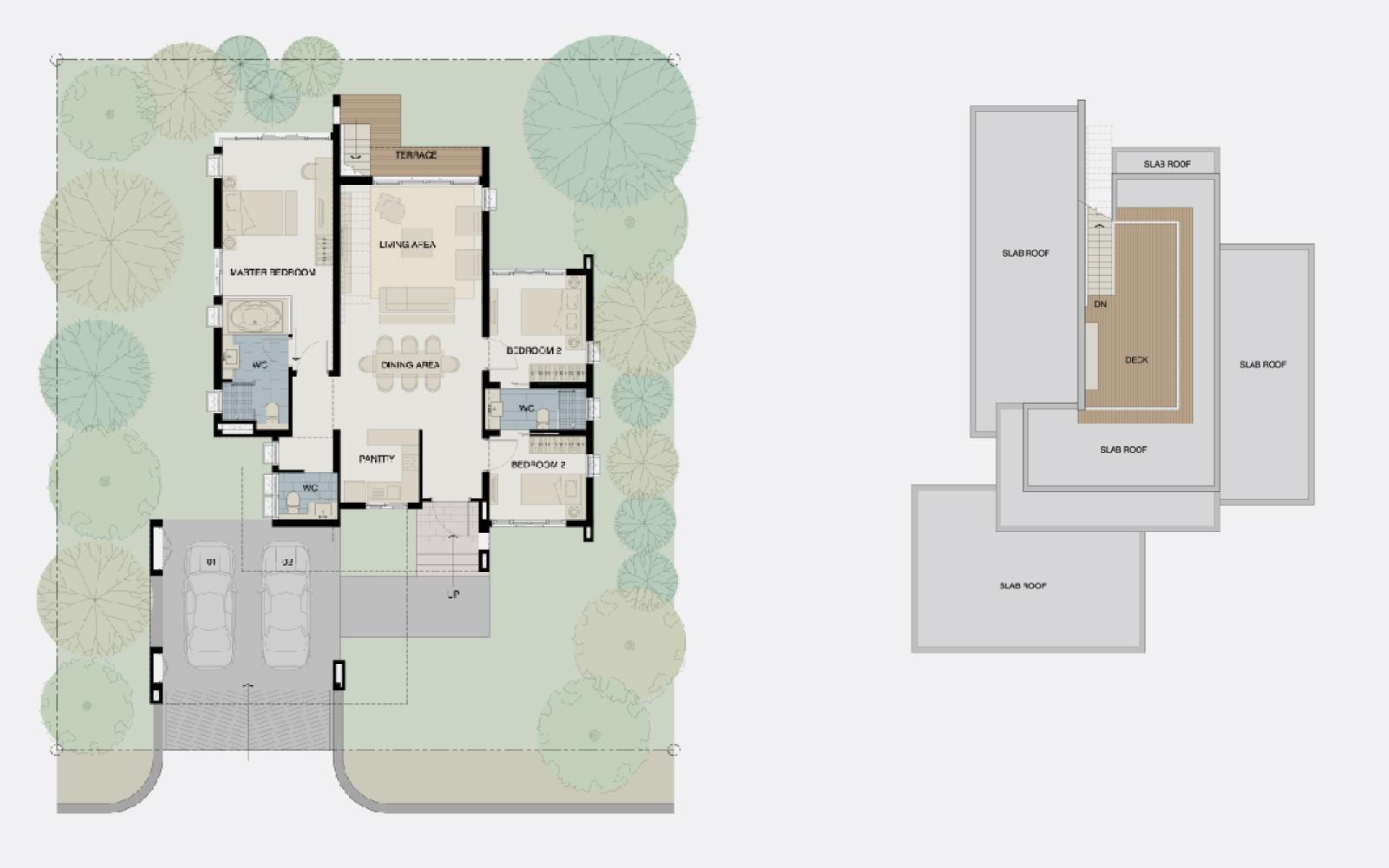 Bonanzabuilt-standard home_piero_plan